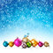 Stock Image : Christmas baubles