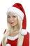 Stock Image : Christmas beauty girl