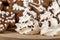Stock Image : Christmas cakes close up
