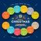 Stock Image : Christmas Calendar 2015