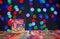 Stock Image : Christmas candle background