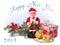 Stock Image : Christmas card.