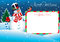 Christmas Card. Merry Christmas lettering for your