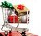Stock Image : Christmas Cart