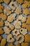 Stock Image : Christmas cookies assorted