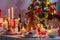 Stock Image : Christmas Eve table