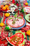 Stock Image : Christmas food - appetizer