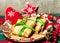 Stock Image : Christmas food pancakes