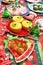 Stock Image : Christmas food