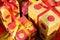 Stock Image : Christmas giftboxes