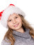 Stock Image : Christmas Girl Portrait.