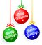 Stock Image : Christmas Greeting Ornaments/eps