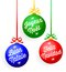 Stock Image : Christmas Language Ornaments/eps