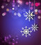 Stock Image : Christmas holiday background with snowflakes