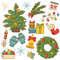 Christmas Icons Set