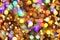Stock Image : Christmas lights background