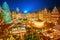 Stock Image : Christmas market in Frankfurt