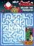 Stock Image : Christmas Maze for Kids