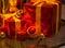 Stock Image : Christmas ornaments, Happy Merry Christmas