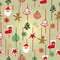 Stock Image : Christmas pattern background