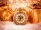 Stock Image : Christmas pocket watch