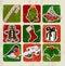 Stock Image : Christmas poster.