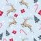 Stock Image : Christmas Seamless Pattern
