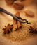 Stock Image : Christmas spices and baking ingredients