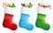 Stock Image : Christmas stockings