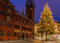 Stock Image : Christmas tree, Rathaus, Basel