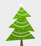 Stock Image : Christmas tree vector