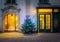 Stock Image : Christmas tree in Vienna