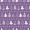 Stock Image : Christmas trees seamless pattern