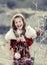 Stock Image : Chritmas girl