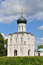 Stock Image : Church of the Intercession on the River Nerl in summer