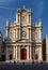 Stock Image : Church of Saint-Paul-Saint-Louis facade, Paris, France