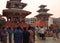 Stock Image : The city of Kathmandu, Nepal