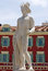 Stock Image : City of Nice - Statue of Apollo on the Place Massena
