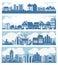 Stock Image : City skyline