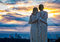 Stock Image : City Sunrise Watchers