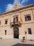 Stock Image : Cityhall of Favignana town, Favignana Island, Sicily, Italy