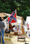 Stock Image : A Civil War Confederate camp.