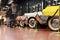 Stock Image : Classic cars museum