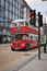 Stock Image : Classic double decker bus in London