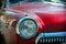 Stock Image : Classic Soviet sedan Gaz Volga M21