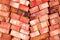 Stock Image : Clay Bricks
