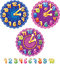 Stock Image : Clock for kids and numbers