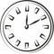 Stock Image : Clock sketch
