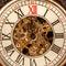 Stock Image : Close up on vintage clock