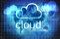 Stock Image : Cloud technology